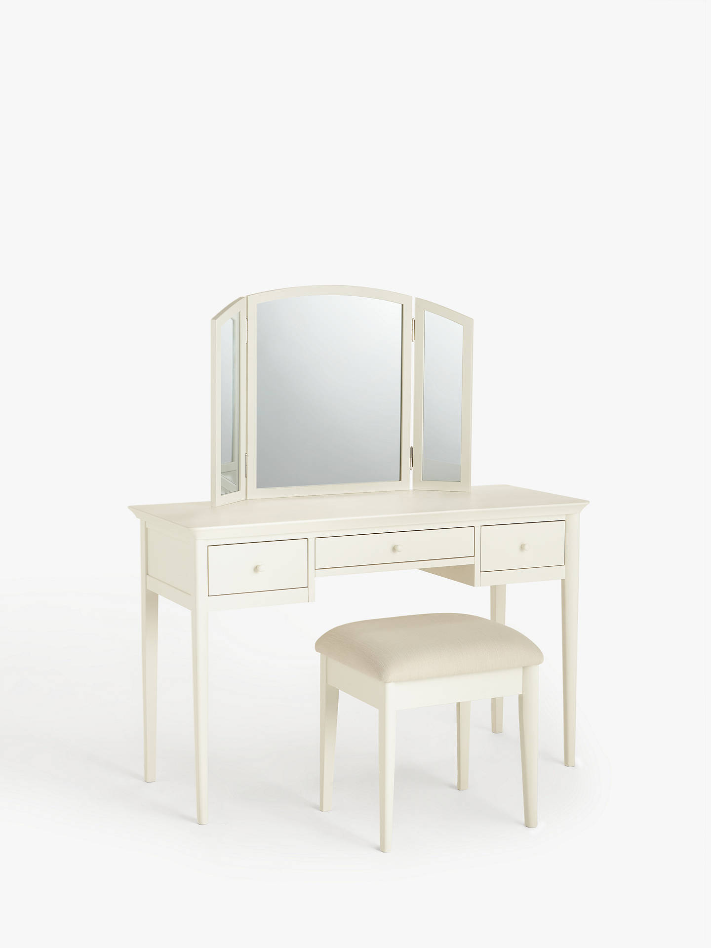 Buy John Lewis & Partners Essence Dressing Table, White Online at johnlewis.com