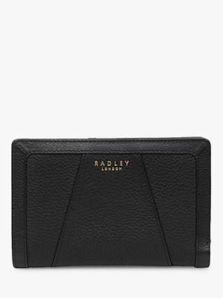 Radley Wood Street Leather Medium Zip Top Purse