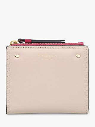 Radley Cotton Street Leather Medium Zip Top Purse 8a3c4bcb5c75d