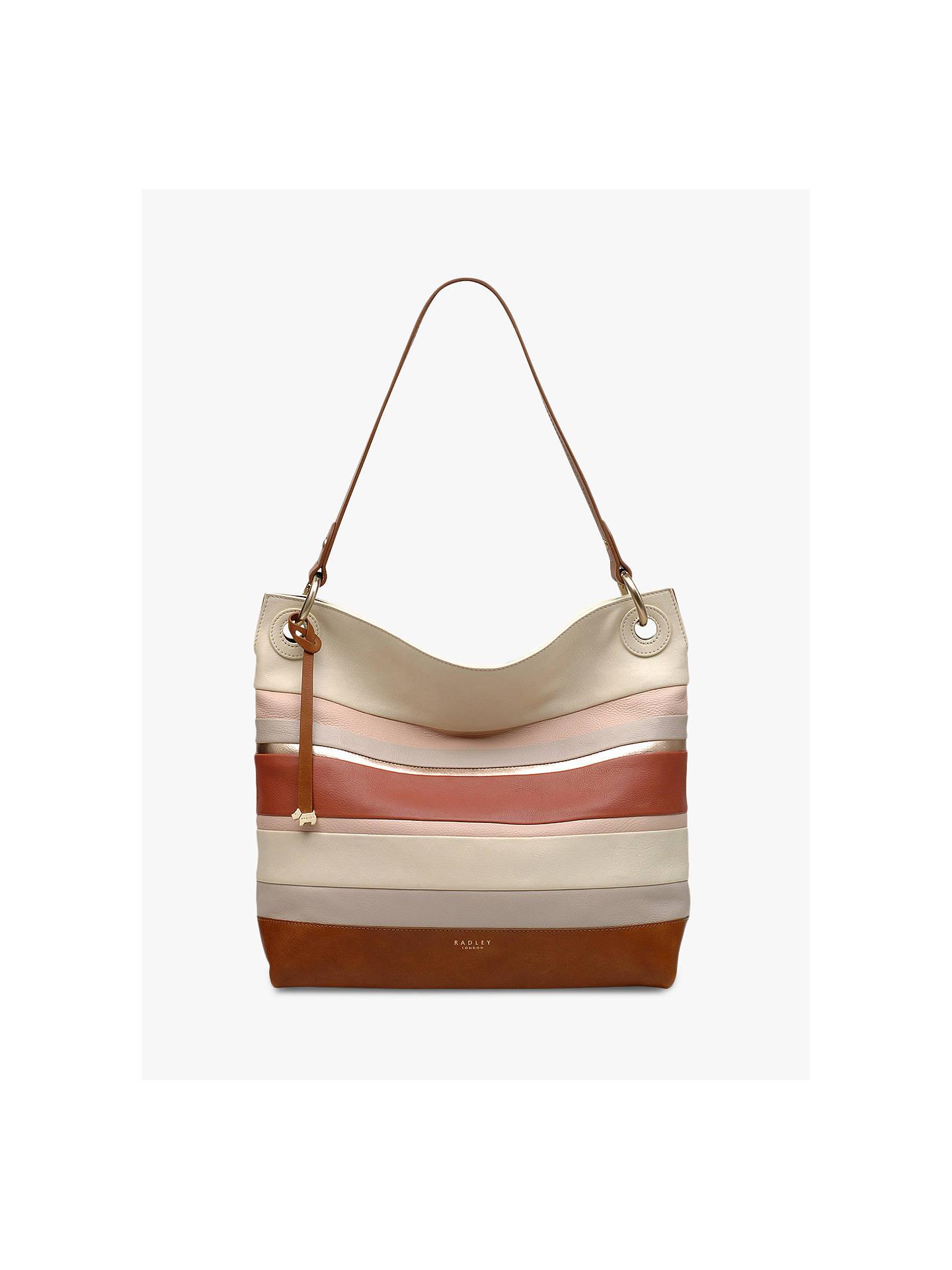 b5470c8af Buy Radley Eaton Hall Large Leather Hobo Bag, Neutral/Multi Online at  johnlewis.