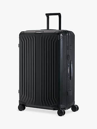 8b1e2eea1a9 Samsonite Lite-Box 76cm 4-Spinner Wheel Aluminium Suitcase