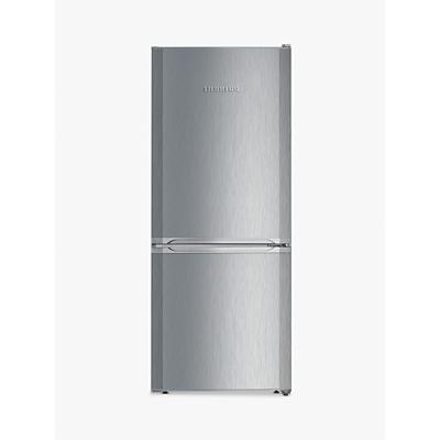 Liebherr CUel2331 Freestanding Fridge Freezer, A++ Energy Rating, 55cm Wide, Silver Stainless