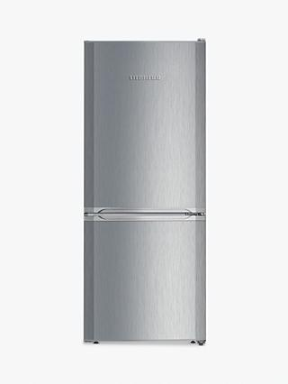 Liebherr CUel2331 Freestanding 60/40 Fridge Freezer, A++ Energy Rating, 55cm Wide, Silver Stainless