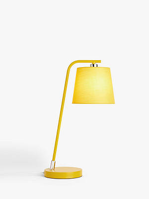 Buy House by John Lewis Harry Table Lamp, Mustard Online at johnlewis.com