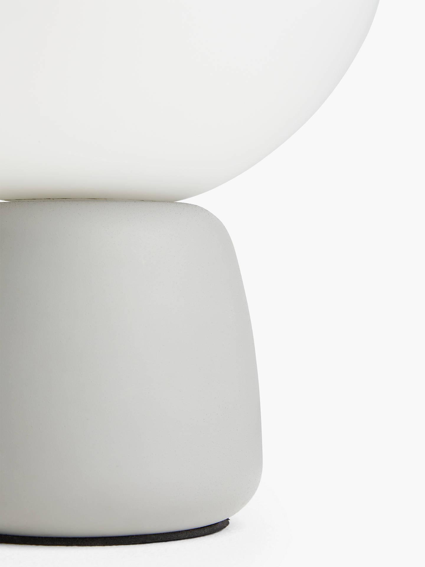 John Lewis Partners Bod Led Table Lamp Grey