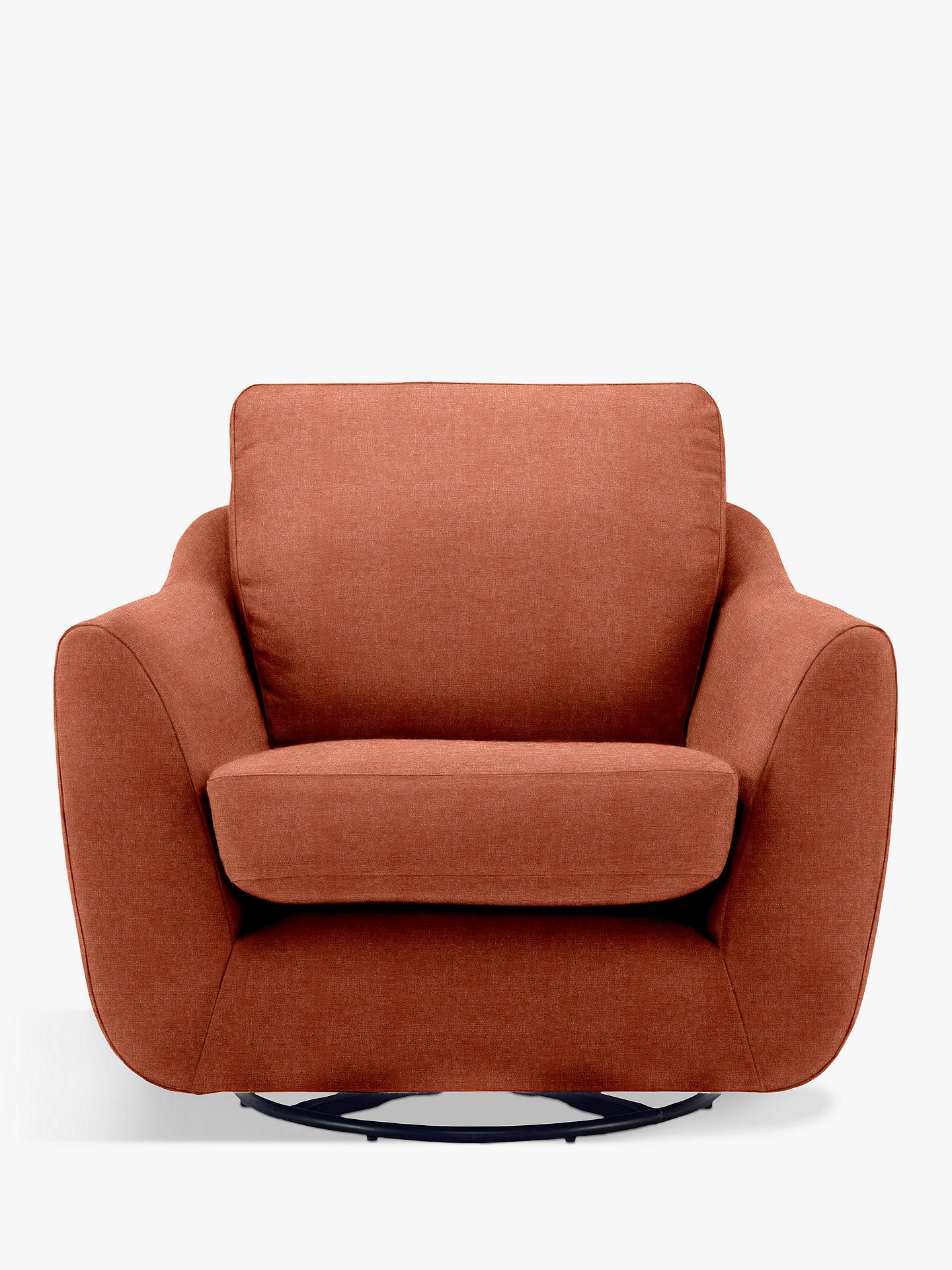 Buy G Plan Vintage The Sixty Seven Swivel Armchair, Deluxe Autumn Velvet Online at johnlewis.com
