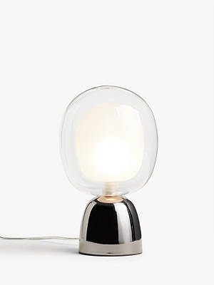 Buy John Lewis & Partners Martian Touch Table Lamp, Smoke Online at johnlewis.com