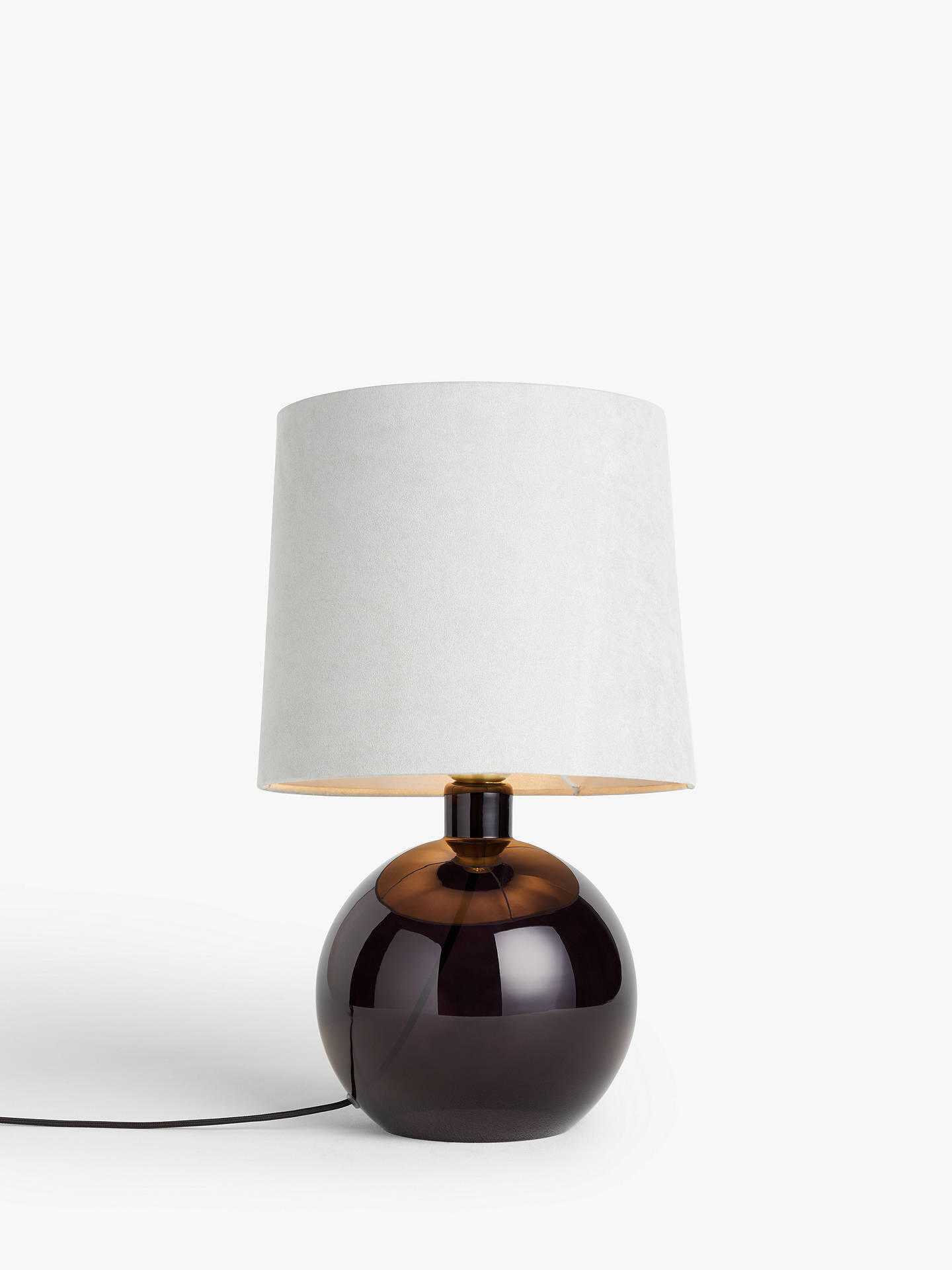 John Lewis Partners Eclipse Glass Table Lamp At John Lewis