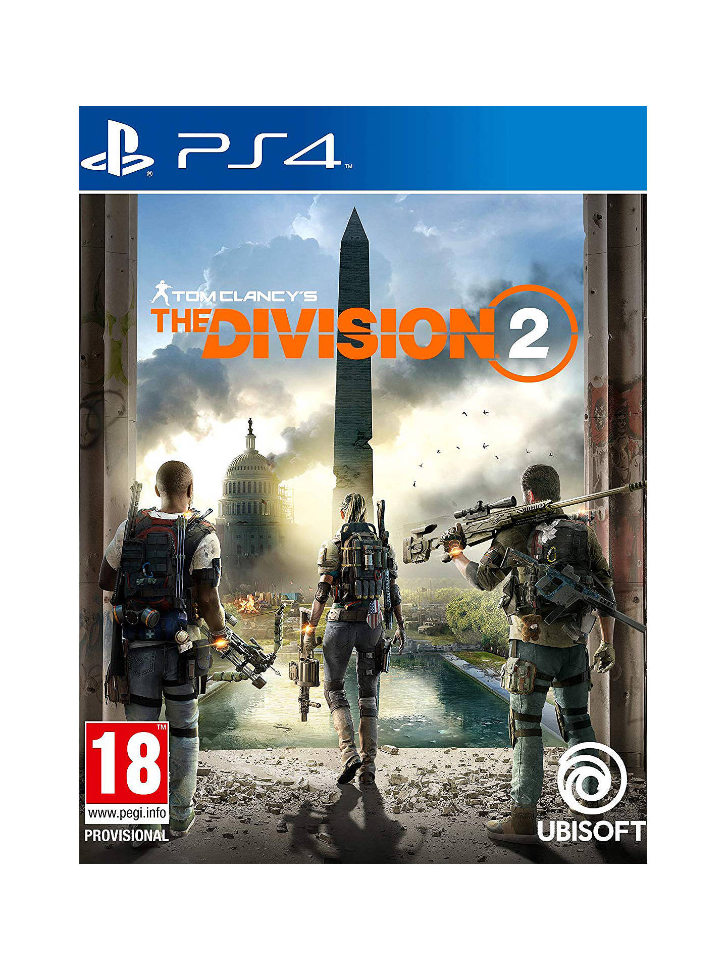 Buy Tom Clancy's The Division 2, PS4 Online at johnlewis.com