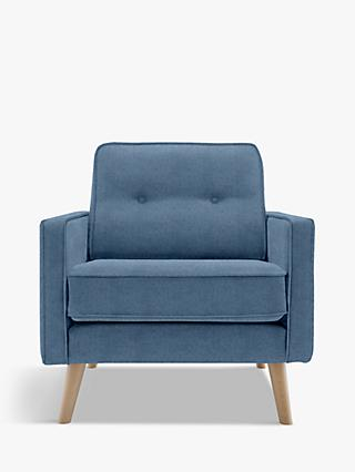 G Plan Vintage The Sixty Five Armchair, Ash Leg