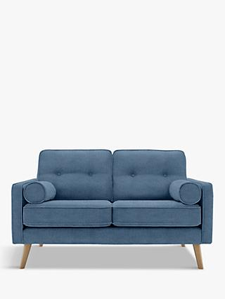 G Plan Vintage The Sixty Five Small 2 Seater Sofa, Ash Leg