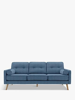The Sixty Five Range, G Plan Vintage The Sixty Five Large 3 Seater Sofa, Ash Leg