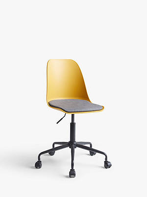 Buy House by John Lewis Whistler Office Chair, Mustard Online at johnlewis.com