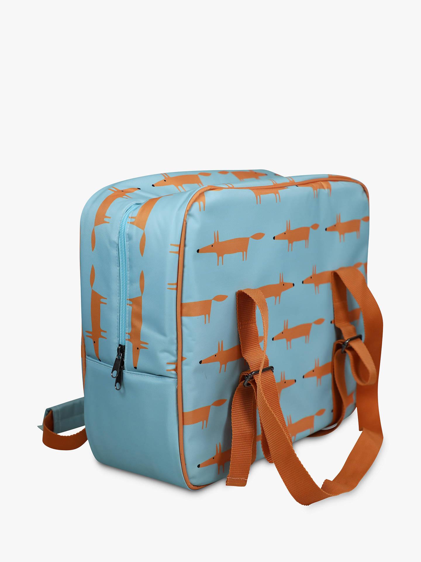 Scion Mr Fox Picnic Cooler Bag Blue