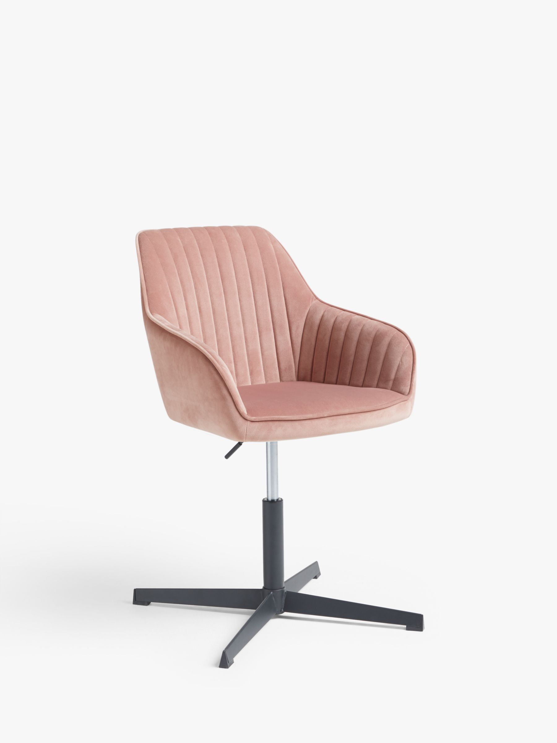 John Lewis & Partners Brooks Velvet Office Chair