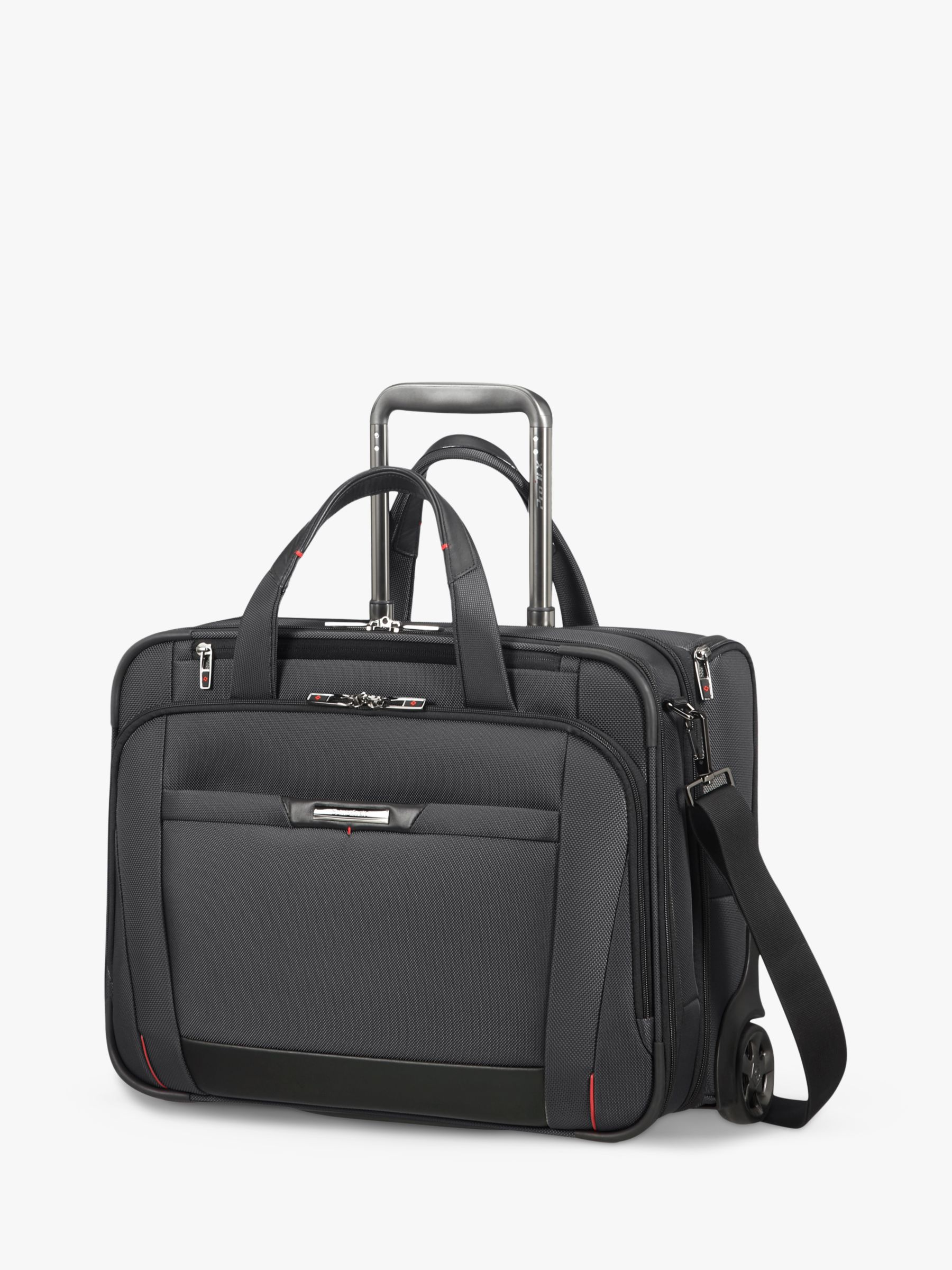 Samsonite Samsonite Pro Dlx 5 15 Rolling Briefcase, Black