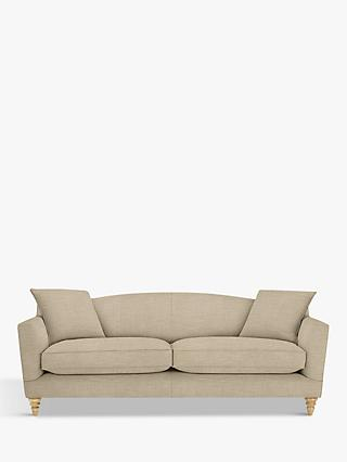 Croft Collection Melrose Grand 4 Seater Sofa, Light Leg, Hope Caramel