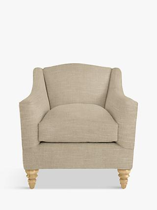 Croft Collection Melrose Armchair, Light Leg, Hope Caramel