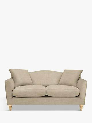 Croft Collection Melrose Medium 2 Seater Sofa, Light Leg, Hope Caramel