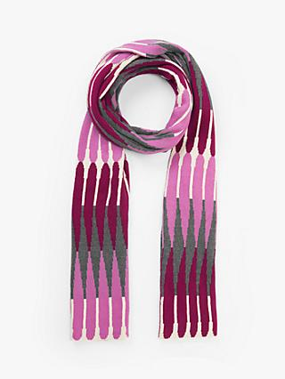 John Lewis & Partners Elongated Diamond Scarf