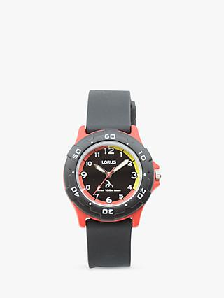 Lorus Children's Novak Djokovic Foundation Silicone Strap Watch