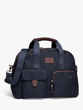 e382d2b09283 Mamas & Papas Bowling Style Changing Bag with Bottle Holder, Dark Navy