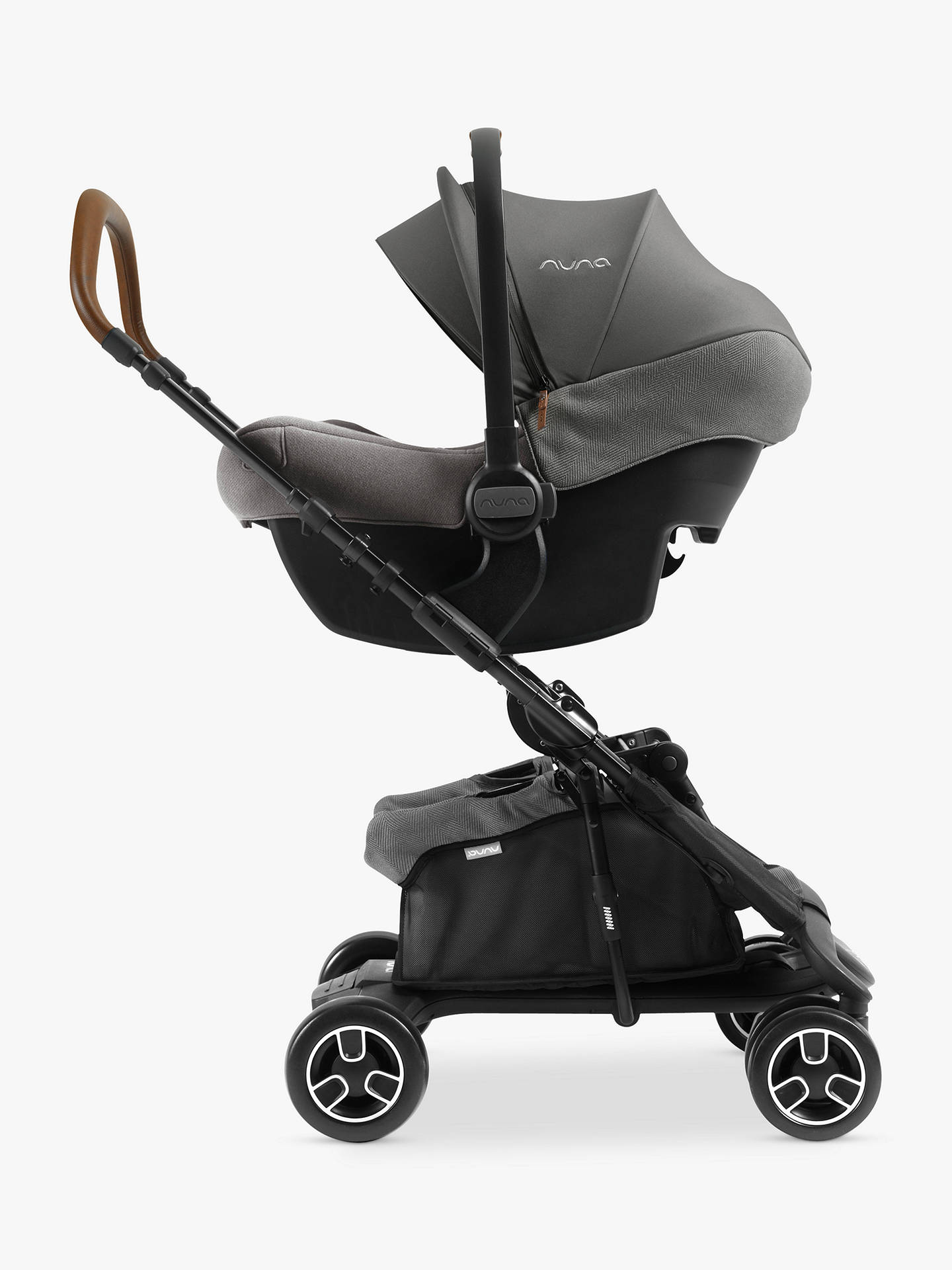 Black For-Your-Little-One Parasol Compatible with Nuna Pepp