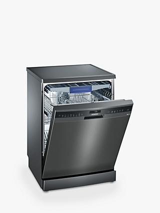 Siemens SN258B00NE Freestanding Dishwasher, A++ Energy Rating, Black