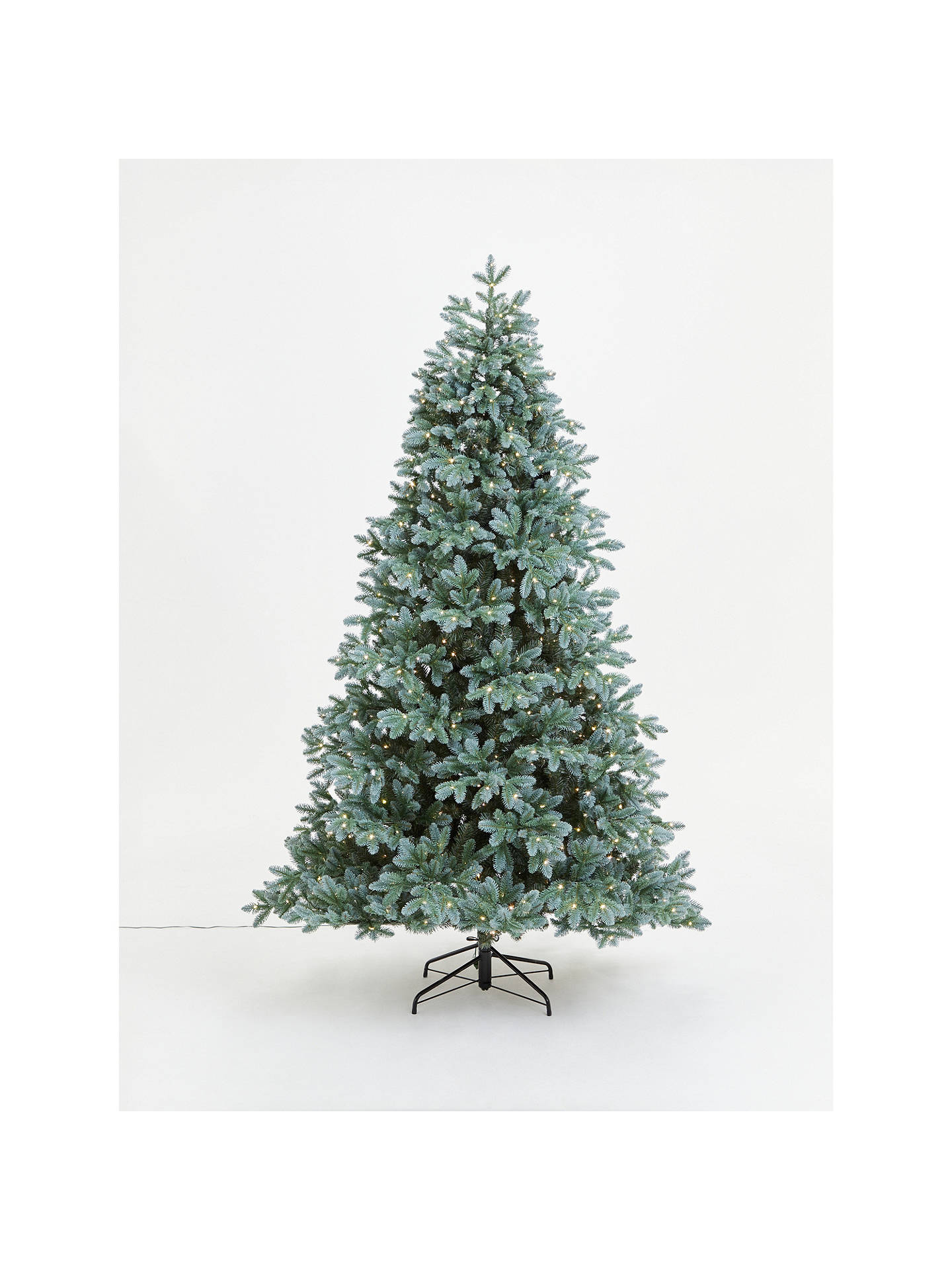 Buy John Lewis & Partners Blue Spruce Pre-lit Christmas Tree, 7ft Online at johnlewis.com
