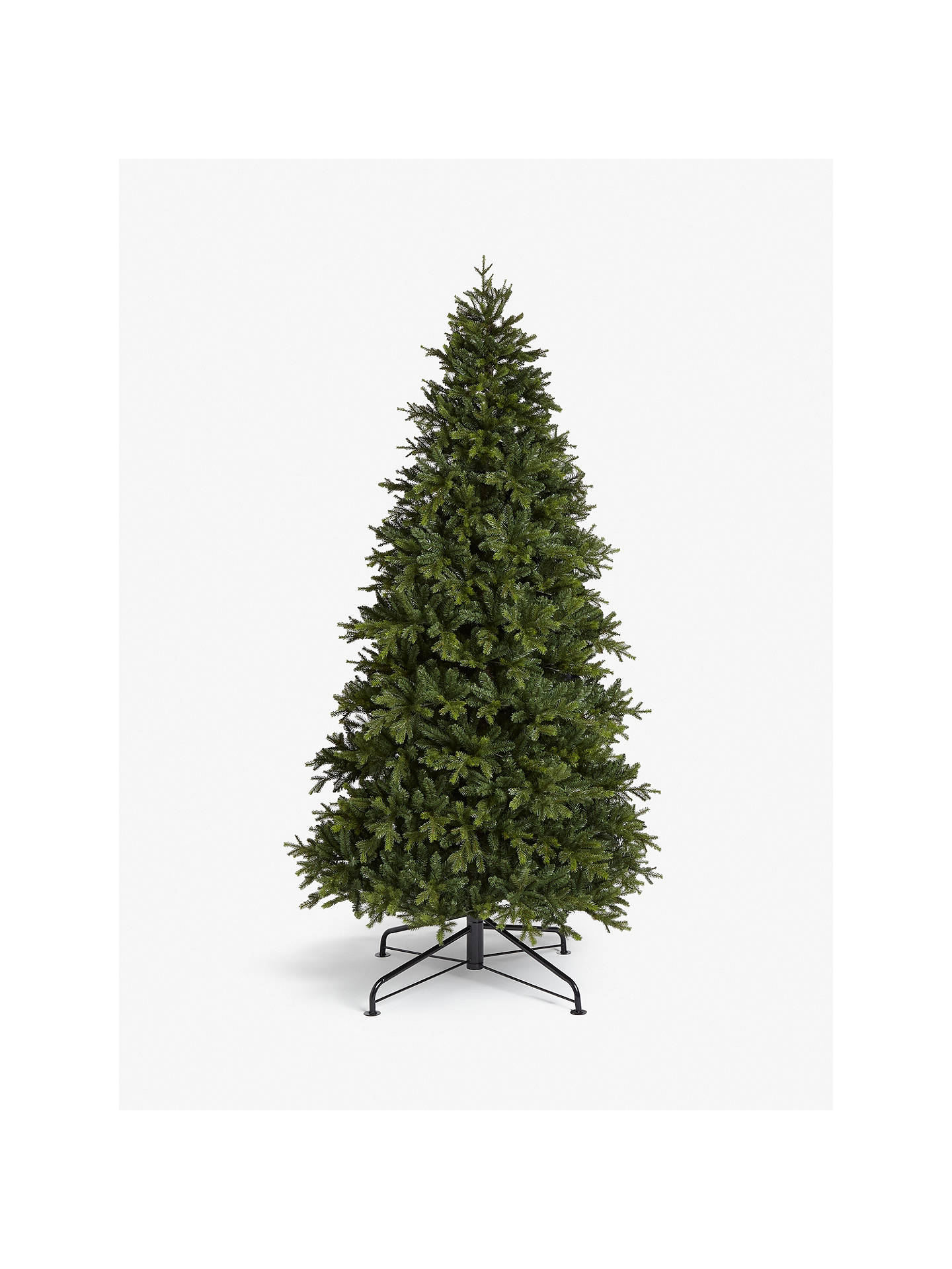 9ft Christmas Tree.John Lewis Partners Brunswick Spruce Unlit Christmas Tree 9ft