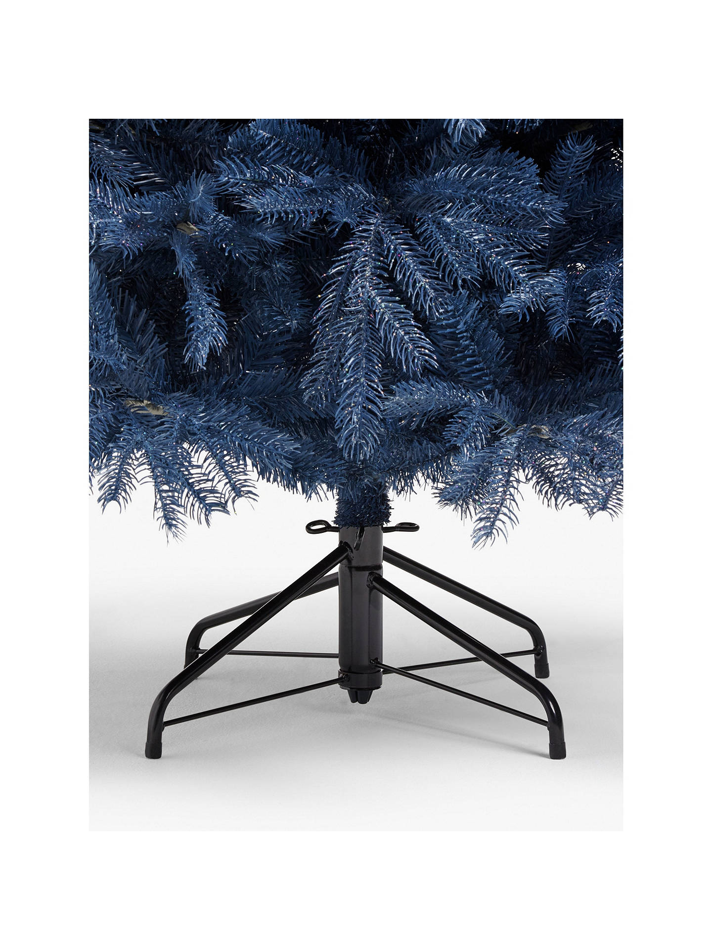 Buy John Lewis & Partners Isla Diamond Smoke Fir Unlit Christmas Tree, 7ft Online at johnlewis.com