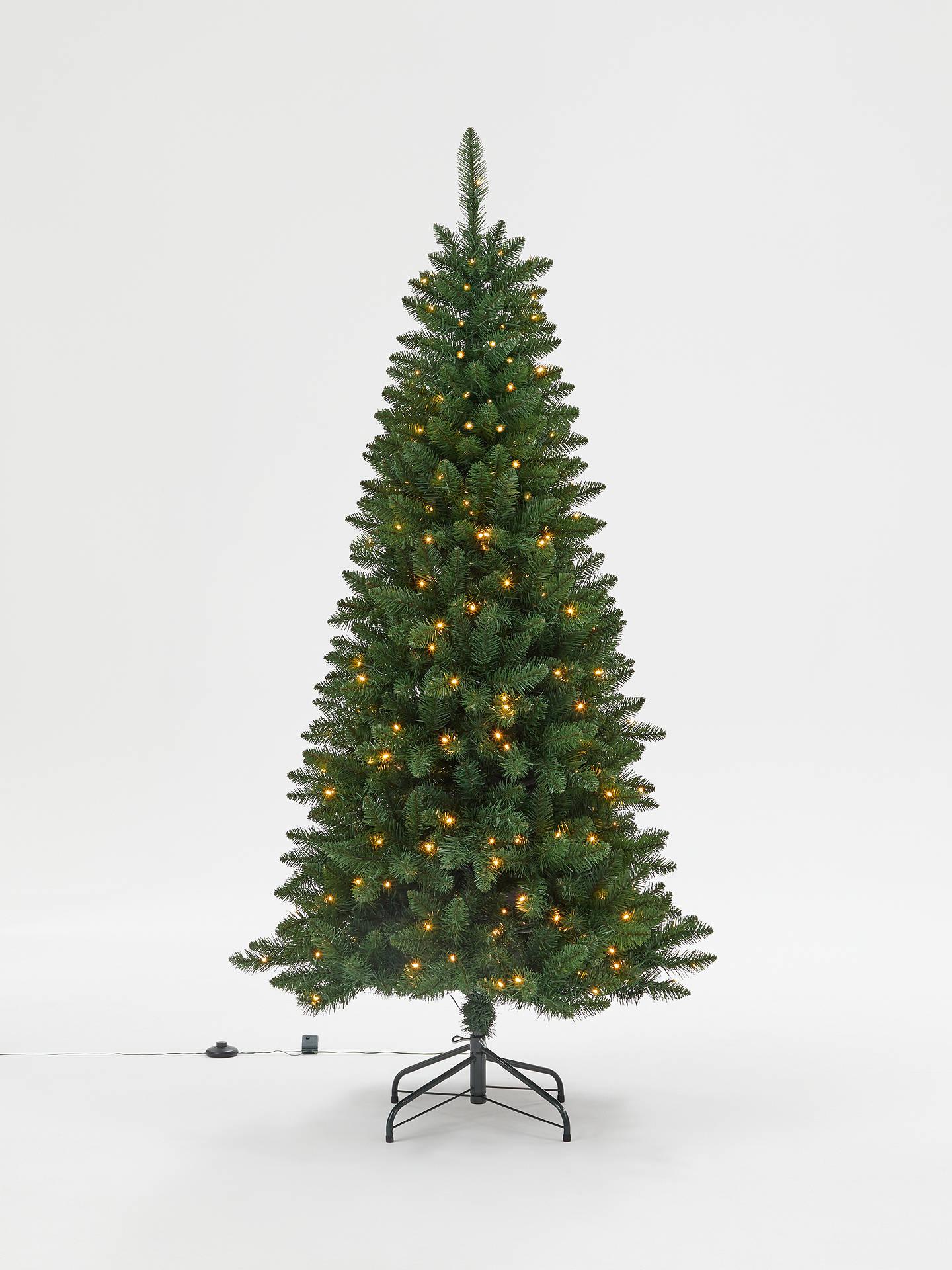John Lewis & Partners Spire Spruce Pre-lit Christmas Tree, 6ft at John Lewis & Partners