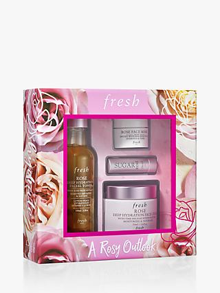 Fresh A Rosy Outlook Skincare Gift Set
