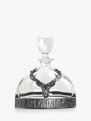 English Pewter Company Stag Decanter
