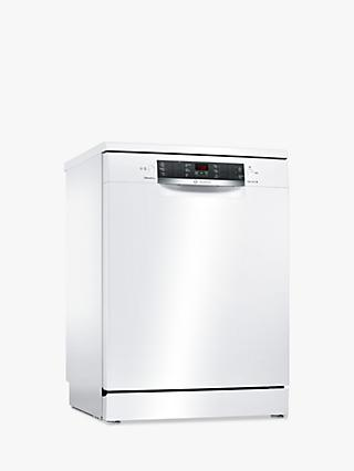 Bosch SMS46MW03G Freestanding Dishwasher, White