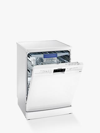 Siemens iQ300 SN236W03MG Freestanding Dishwasher, White