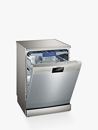 Siemens iQ300 SN236I02MG Freestanding Dishwasher, Grey