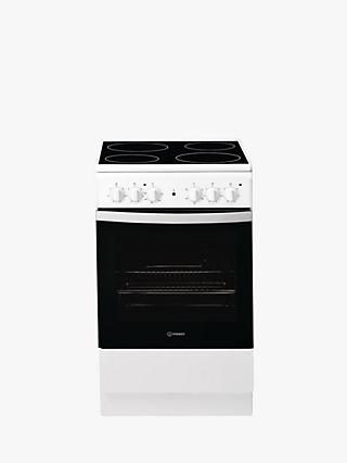 Indesit CLOE IS5V4KHW/UK Electric Cooker, B Energy Rating, White