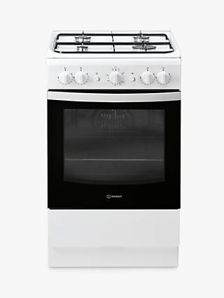 Indesit CLOE IS5G1KMW/U 50cm Single Gas Cooker, A Energy Rating, White
