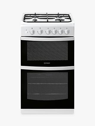 Indesit CLOE ID5G00KMW/UK 50cm Single Gas Cooker, A Energy Rating, White