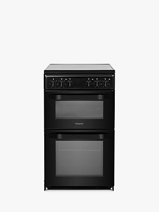 Hotpoint HD5G00 50cm Single Gas Cooker, A Energy Rating