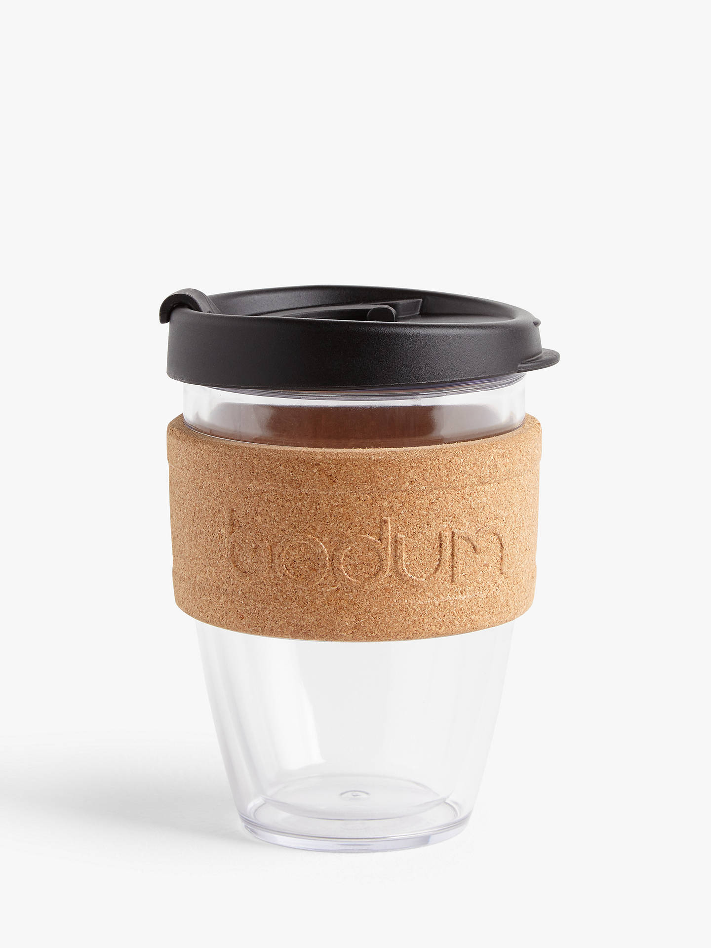 a929fb7d890 BODUM Joy Cup Double Wall Cork Band Travel Mug, 300ml
