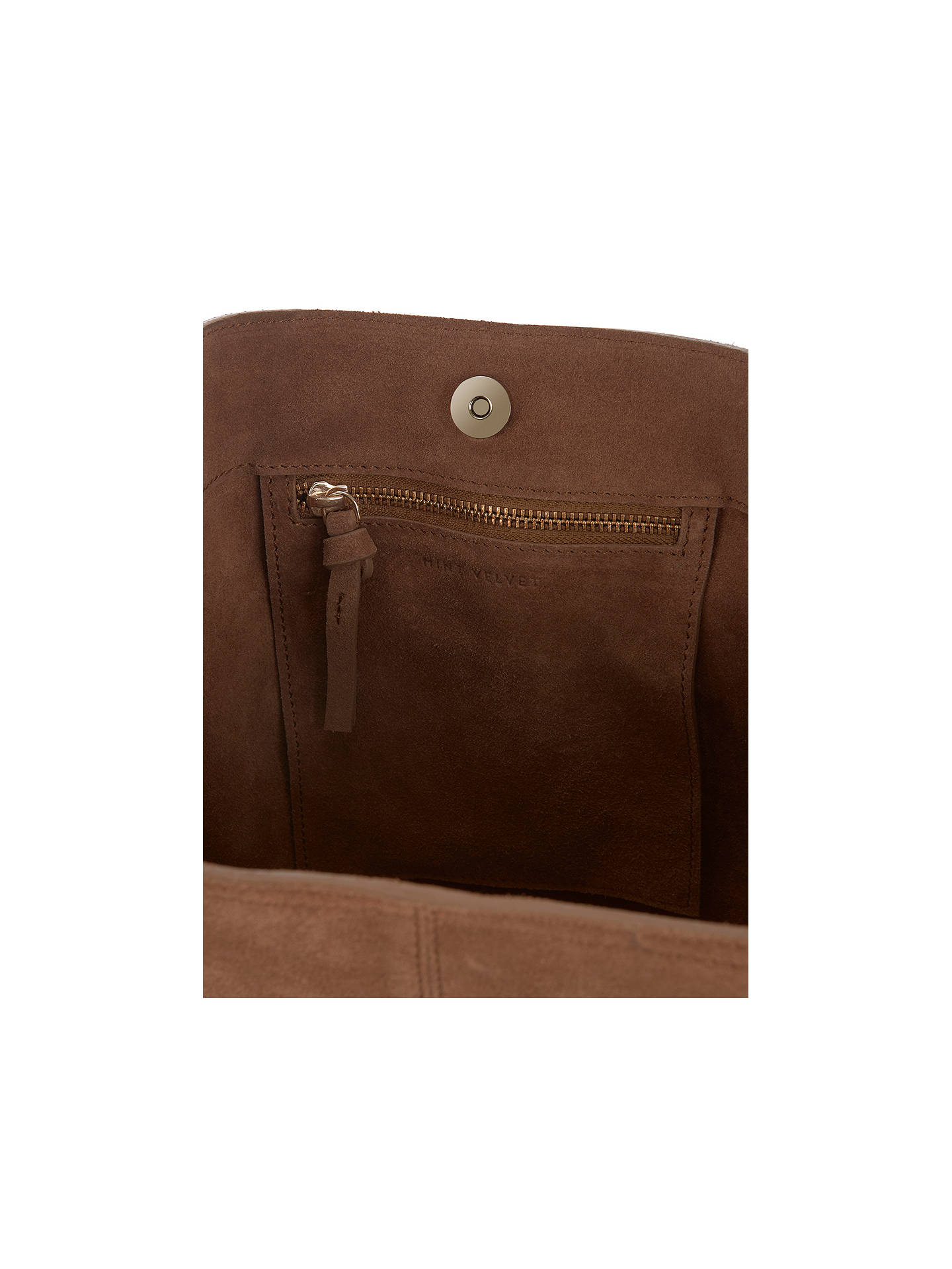 0ae944b25ce8fd ... Buy Mint Velvet Nelly Leather Slouch Tote Bag, Brown Online at  johnlewis.com ...