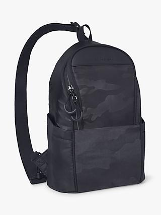 Skip Hop Paxwell Sling Backpack, Black Camo