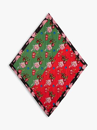 Ted Baker Brianaa Sundae Diamond Scarf, Red/Green