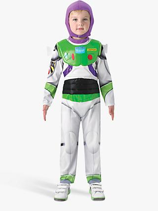 Toy Story Buzz Lightyear Deluxe Children's Costume, 3-4 years