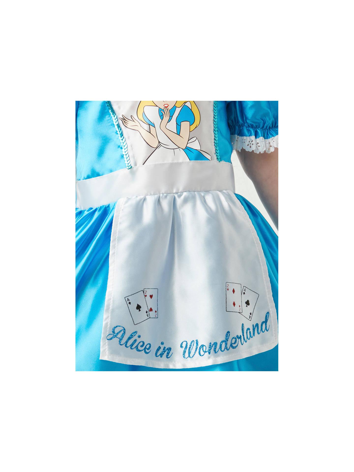 Alice In Wonderland Children S Costume 5 6 Years