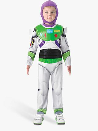 Toy Story Buzz Lightyear Deluxe Children's Costume, 5-6 years