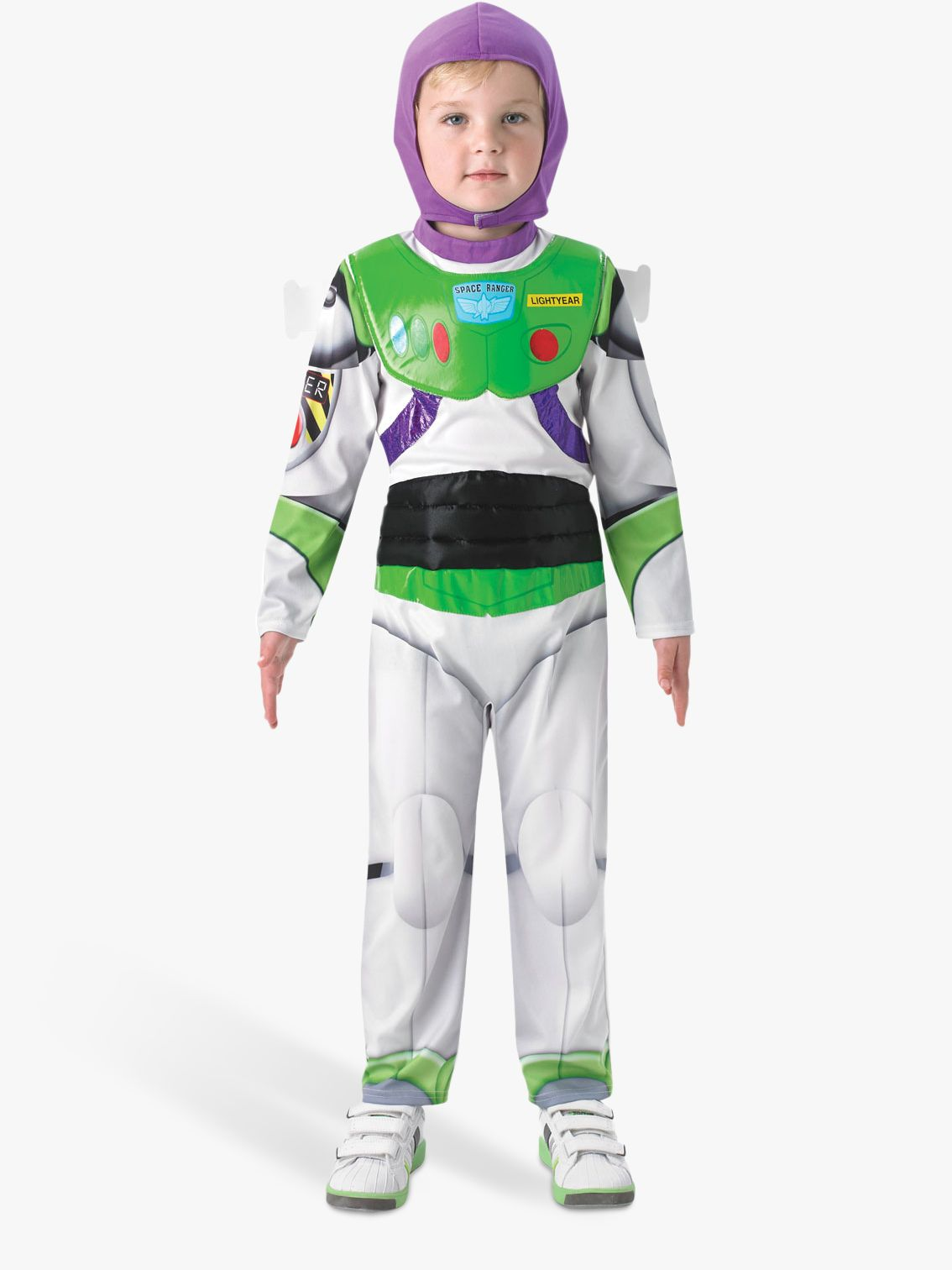 Rubies Toy Story Buzz Lightyear Deluxe Children's Costume, 5-6 years