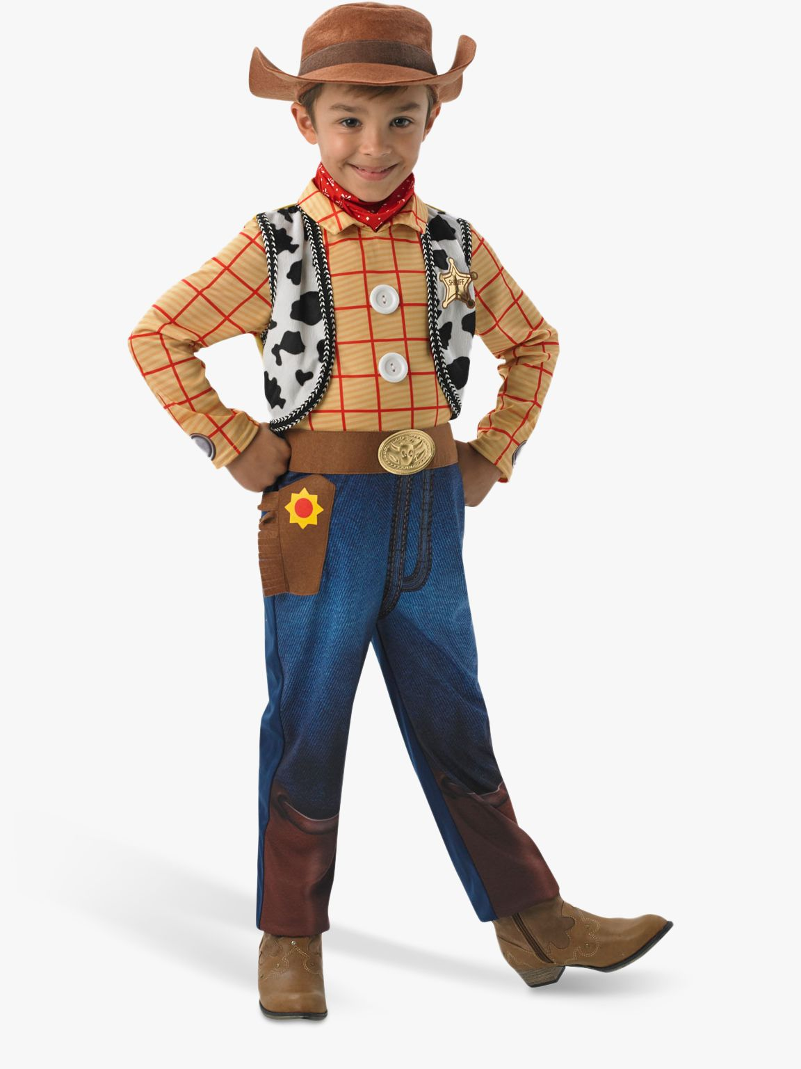 Rubies Toy Story Woody Deluxe Children's Costume, 5-6 years